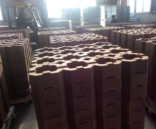 Forsterite (tubular brick)