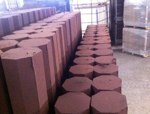 Thermal storage brick